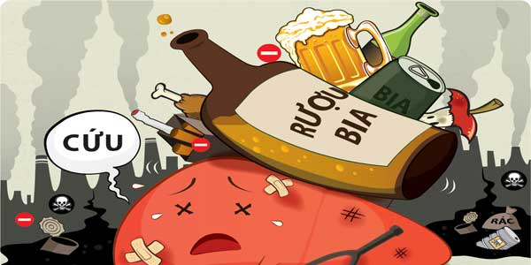 Nhận biết bệnh viêm gan do rượu